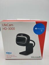 BRAND NEW! RARE! Microsoft LifeCam HD-3000 Webcam 1492