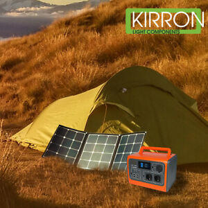 Bluetti EB55 LiFePo4 Solar Powerstation Set
