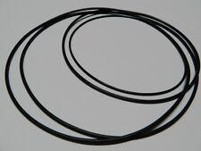 Audio Tape belt Set fits Grundig TK 241 de Luxe Rubber drive belt kit