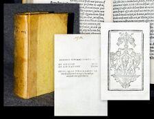 c1520 Post-incunabula Giunta Pontano De sermone libri sex De aspiratione