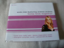 SODA CLUB - KEEP LOVE TOGETHER - 4 TRACK DANCE CD SINGLE