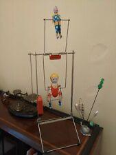 Til Tak Tinplate Clockwork Circus Toy Acrobat Clown