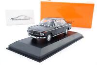 #940022101 - Minichamps BMW 1600 - Schwarz - 1968 - 1:43
