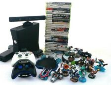XBOX360 Bundle +Kinect+skylander dock and figures+2controller and dock (I)
