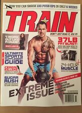 Train Extreme Issue 100 Pushups 6 Weeks Supplement Guide Nov 2014 FREE SHIPPING!