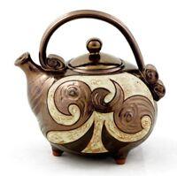 Ceramic Teapot, Unique Pottery Teapot, Rustic pottery teapot, Unique quirky teap