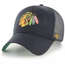 47 Brand Adjustable Cap - BRANSON Chicago Blackhawks schwarz