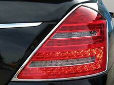 Mercedes W221 S Class Chrome tail lamp rear lamp surrounds Set