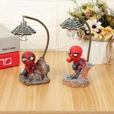 Spiderman Night Light Desk Table Lamp Children Gift Christmas Child Gift Decor
