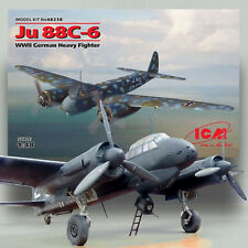ICM 1/48 JUNKER JU 88C-6 TWIN ENGINE HEAVY FIGHTER KIT48238