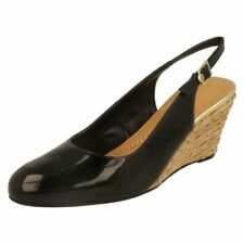Buckle Patent Leather Heels for Women