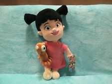 """BNWT Disney Store Monsters Inc - BOO Girl & Lil Mikey - Plush Soft Toy Doll 14"""""""