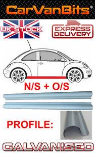 VW NEW BEETLE 98-10 SILL REPAIR PANEL ROCKER SILL N/S + O/S PAIR GALVANISED