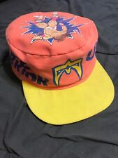 Vintage Ultimate Warrior Painters Hat CAP WWF Wrestling RARE