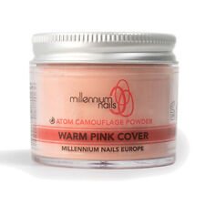 Millennium Nails Professional Acrylic Cover Powder WARM PINK Camouflage 50g