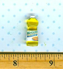 Dollhouse Miniature Size Cooking Oil Bottle