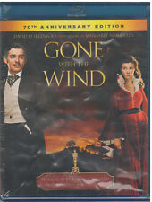 GONE WITH THE WIND (Blu-ray Disc, 2010, 70th Anniversary Edition) NEW