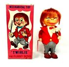 """Vintage Alps """"Twirlie"""" The Funny Boys, Mechanical Toy"""