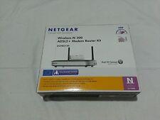 NETGEAR DGNB2100 - Wireless modem Router Kit N300 ADSL 2+ DGN2000 + WN111v2