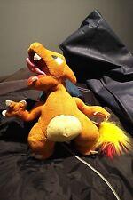 "Nintendo Pokemon Charizard 1999 Vintage 10"" Stuffed Plush Play By Play Dragon"