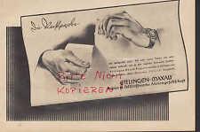 ETTLINGEN-MAXAU, Werbung 1941, Papier-Zellstoff-Werke AG