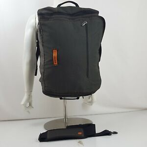 Timbuk2 Backpack Travel Carry On Weekend Overnighter Luggage Gray Orange