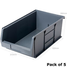XL7 Grey Picking Bin Size 7 (5 Pack) Recycled Plastic