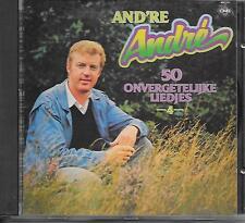 ANDRE VAN DUIN - 50 Onvergetelijke liedjes 4 CD Album 10TR (CNR) 1980/1987