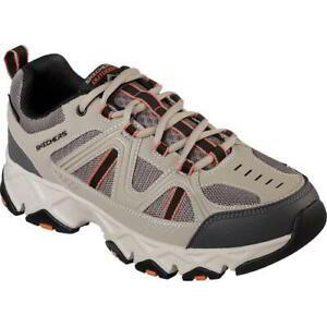 Skechers Mens Crossbar Water Repellent Walking Hiking Trainer Shoes Size UK 8-10