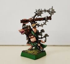 Skaven Plague Lord (a) well painted metal model OOP