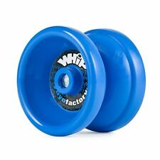 Whip Blue Responsive Yo Yo From The YoYoFactory + 3 NEON STRINGS YELL/ORG/GREEN