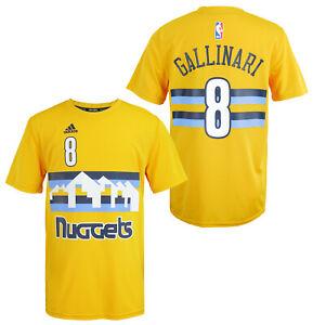 Adidas NBA Youth (8-20) Denver Nuggets Danilo Gallinari #8 Performance T-Shirt