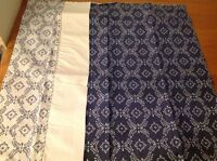 """Laura Ashley Norton Blue Pillow Sham New In Package 25"""" X 25"""" Square"""