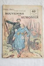 COLLECTION PATRIE N°123 SOUVENIRS D'UN AUMONIER 1919 SPITZMULLER ILLUSTRE