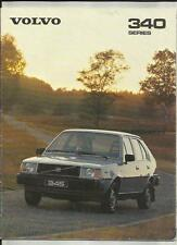 VOLVO 343DL AND 345DL  SALES BROCHURE 1980