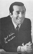 AL MARTINO AMERICAN SINGER/ACTOR ARCADE CARD NON-P/C