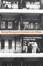 Housing Management, Consumers and Citizens-ExLibrary
