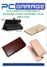 PU LEATHER FLIP PHONE WALLET BOOK CASE COVER FOR IPHONE 7 PLUS AND 8 PLUS