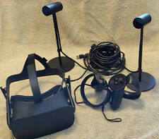 Oculus Rift + Touch Virtual Reality Headsets with Touch Controllers - Black