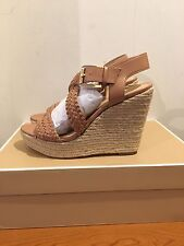 MICHAEL KORS Giovanna Wedge Sandals Shoes Size UK 5/EU 38