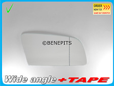 Wing Mirror Glass Wide Angle BMW E-60 2003-08 + Strong TAPE Right Side B006