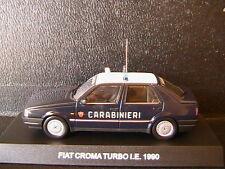 FIAT CROMA TURBO I.E. 1990 CARABINIERI DEAGOSTINI ITALIA 1/43 BERLINE 4 PORTES