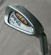 Ping i3 Blade 4 Iron Orig.  Z-Z65 Steel Shaft White Lie Angle Good Cond.