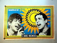I MANIFESTI DI GIOVANI - Poster Vintage - I DUE NEMICI - 73x50 Cm [85]