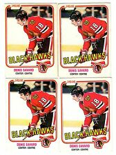 1X DENIS SAVARD 1981-82 OPC #63 RC Rookie EX O Pee Chee Bulk Lot Available