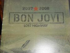 Bon Jovi Autograph Lost Highway Tour Program signed