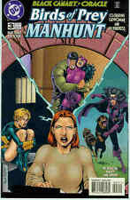 Birds of Prey: Manhunt # 3 (of 4) (Black Canary/Oracle) (USA, 1996)