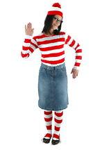 Where's Waldo, Wenda Adult Female Costume Kit LARGE/XL NEW SEALED