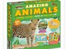 Animals amazing activity set jigsaw puzzle model poster quiz educational fun
