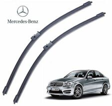 """Mercedes C Class W204 2008- Set 24""""+24"""" Made in Germany Front Wiper Blade"""